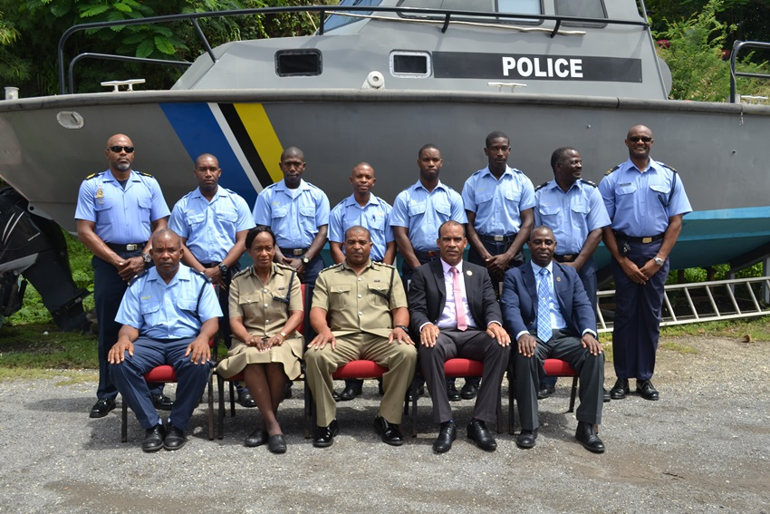 ST. LUCIA'S MARINE OFFICERS TRAINED TO MAINTAIN VESSELS