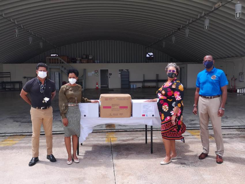CARPHA and RSS Team Up to Deliver Supplies
